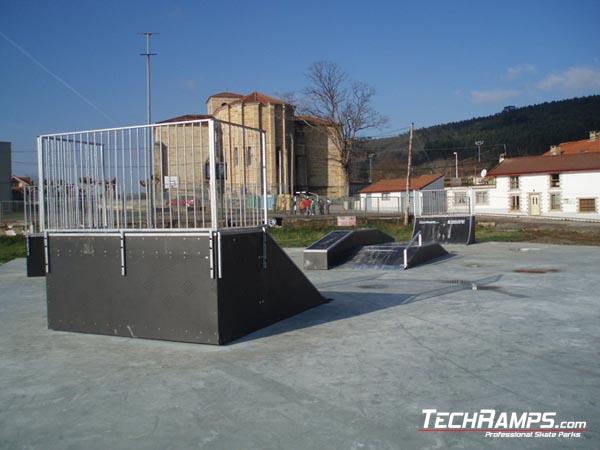 Skatepark w Arnuero - Hiszpania