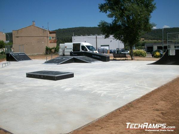 Skatepark w Balsareny - Hiszpania