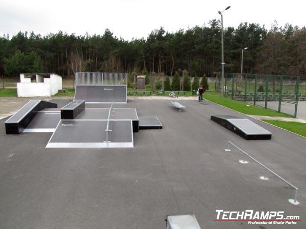 Skatepark w Białobrzegach