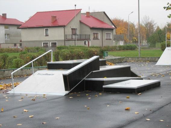 Skatepark w Białogardzie