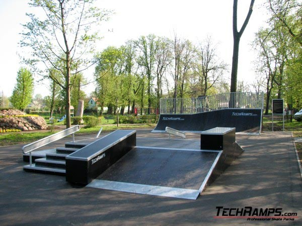 Skatepark w Bierutowie