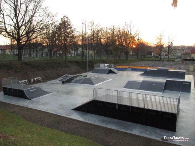Skatepark w Bogatyni