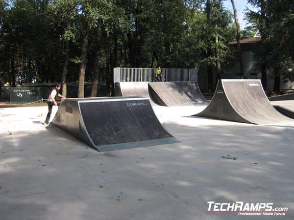 Skatepark w Borispolu - Ukraina