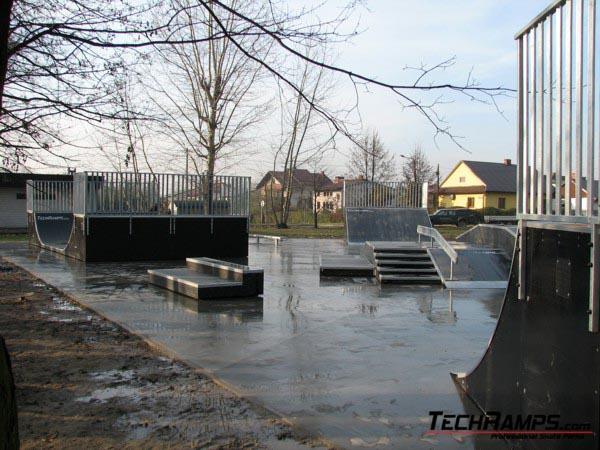 Skatepark w Brzeszczach