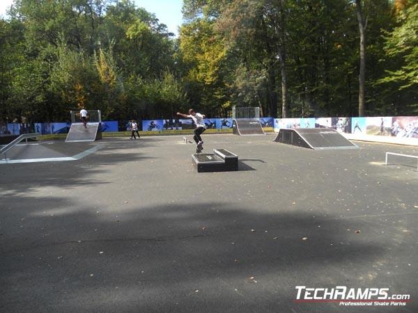 Skatepark w Buczy - Ukraina