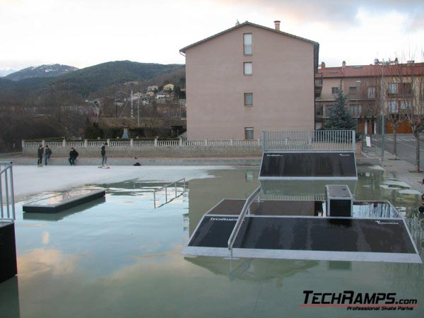 Skatepark w Campdevànol