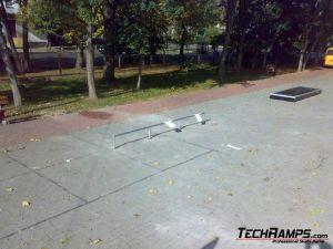 Skatepark w Celestynowie - II etap - 2