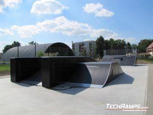 skatepark w Chałupkach panorama