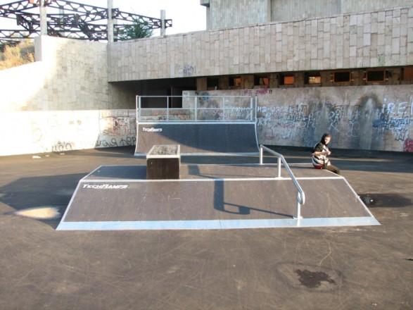 Skatepark w Charkowie - Ukraina