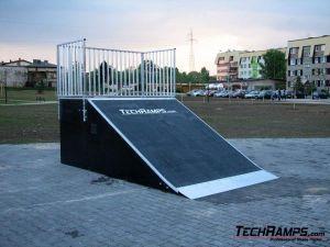 Skatepark w Czechowicach-Dziedzicach - Bank