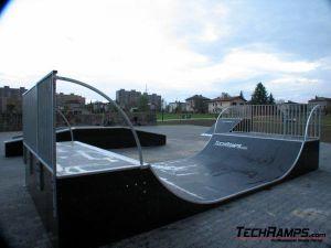 Skatepark w Czechowicach-Dziedzicach - miniramps
