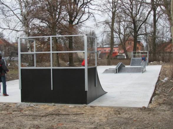 Skatepark w Dobrym Mieście