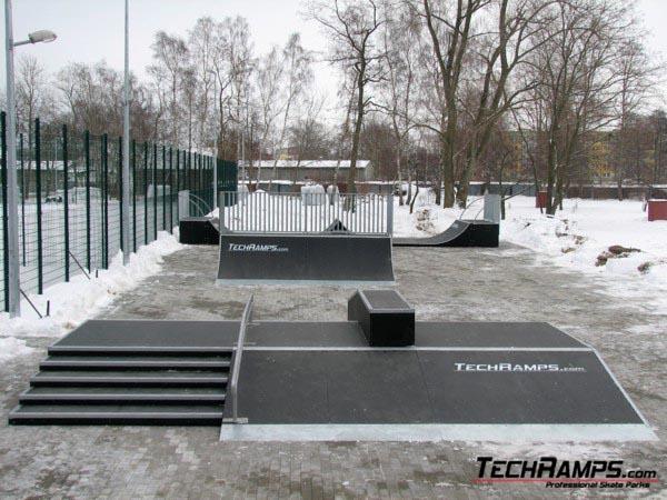 Skatepark w Dziwnowie