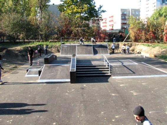 Skatepark w Głogowie