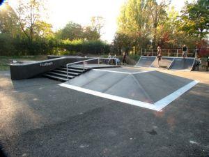 Skatepark w Głogowie 2