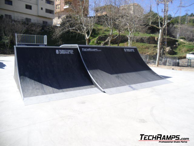 Skatepark w Hiszpania Alcora