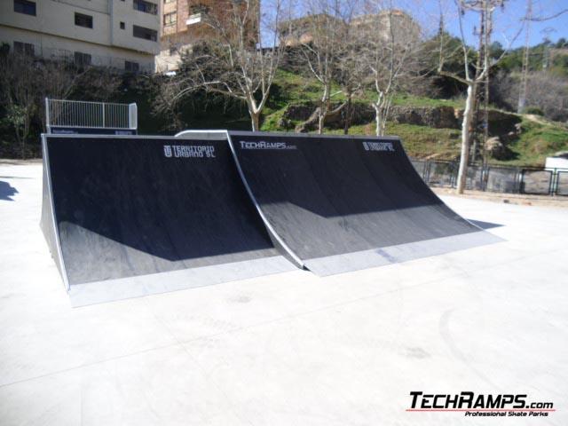 Skatepark w Hiszpanii w Alcora