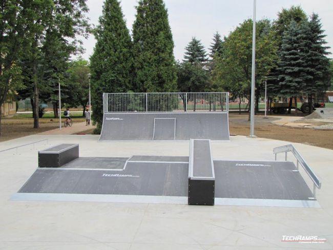 Skatepark w Jaśle