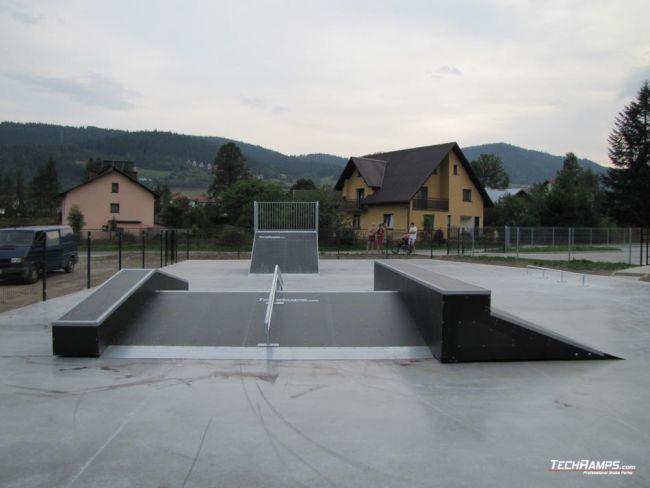 Skatepark w Kamienicy
