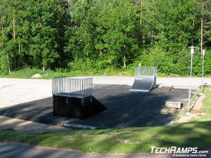 Skatepark w Karlshamn - Nyemollevagen - Szwecja - 4