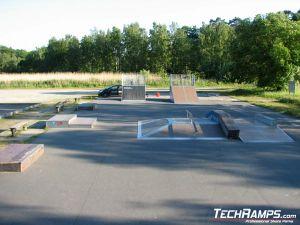 Skatepark w Karlshamn - Szwecja - 1