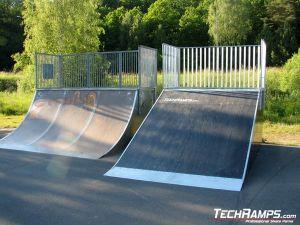 Skatepark w Karlshamn - Szwecja - 2