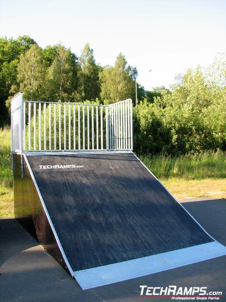 Skatepark w Karlshamn - Szwecja - 3