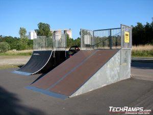 Skatepark w Karlshamn - Szwecja - 5