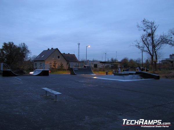 Skatepark w Kcyni