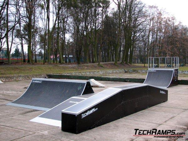 Skatepark w Kluczborku