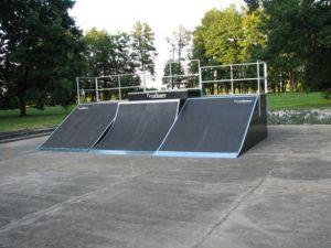 Skatepark w Kluczborku - 1