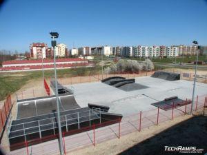 Skatepark w Koziegłowach - Czerwonak 1