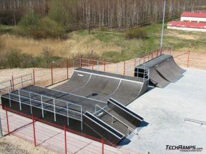 Skatepark w Koziegłowach - Czerwonak 3
