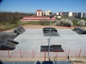 Skatepark w Koziegłowach - Czerwonak 5
