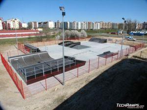 Skatepark w Koziegłowach - Czerwonak 7