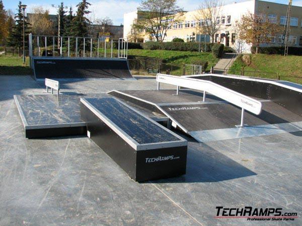 Skatepark w Krośnie