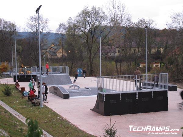 Skatepark w Krynicy-Zdroju
