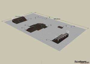 Skatepark w Łodzi - projekt 2