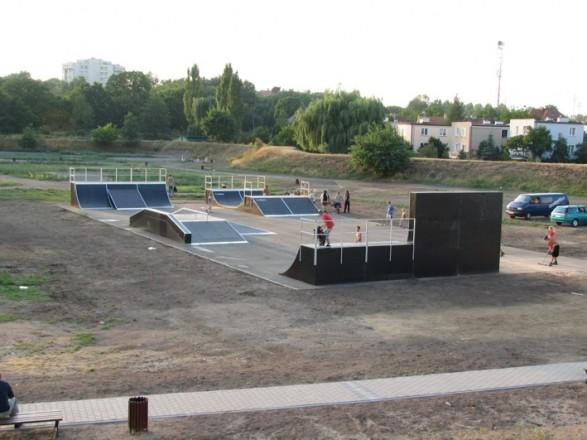 Skatepark w Lubinie