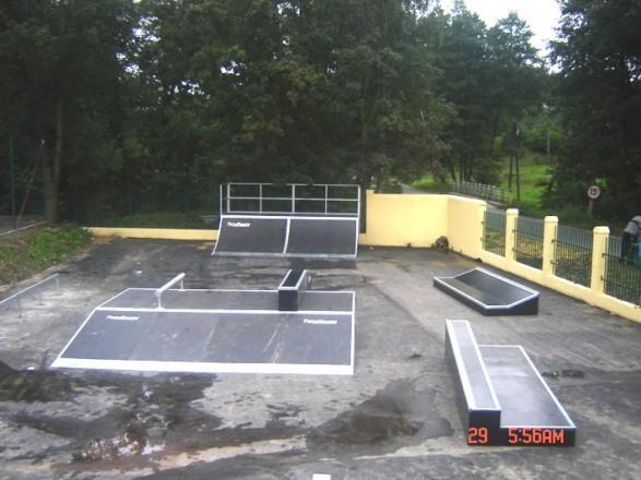 Skatepark w Majkowie