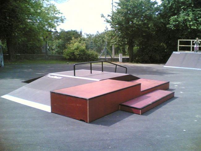 Skatepark w Markach
