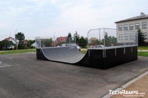 Skatepark w Michałowie Minirampa