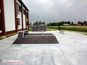 Skatepark w miejscowości Rychtal już stoi