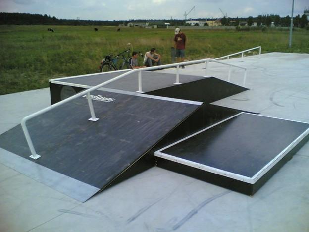 Skatepark w Morawicy - Bilczy