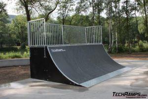 Skatepark w Myślenicach - 14