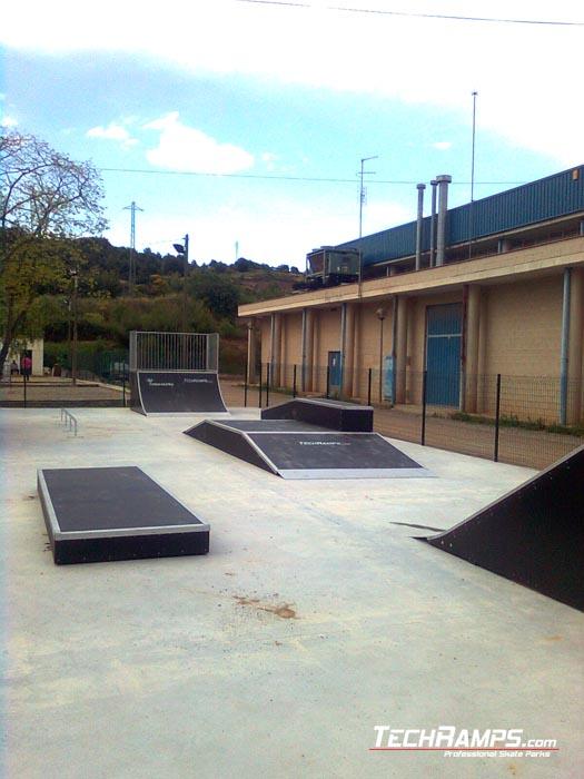 Skatepark w Navas - Hiszpania
