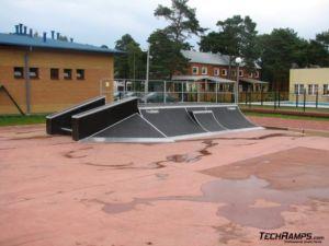 Skatepark w Niechorzu - 2
