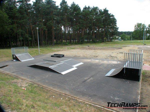 Skatepark w Nowej Dębie