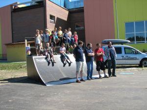 Skatepark w Nowej Sarzynie 1
