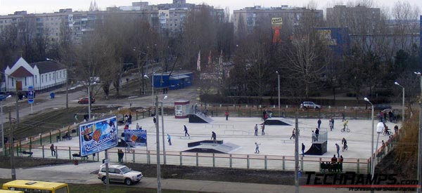 Skatepark w Odessie - Ukraina